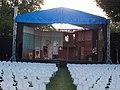 Festetics Palace park, stage, Keszthely, 2016 Hungary.jpg