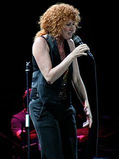 Fiorella Mannoia Italian singer
