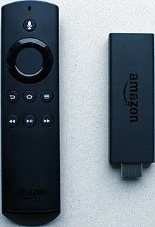 How does the amazon fire tv remote work