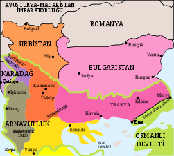 First Balkan War-tr.svg