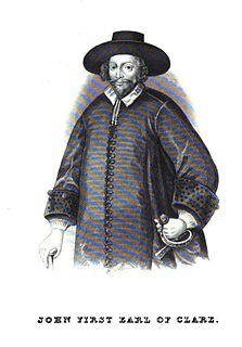 John Holles, 1st Earl of Clare English politician and Earl