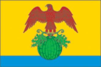 Kamyshinsky District - Image: Flag of Kamyshinsky district 2007