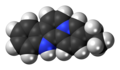 Flavopereirine cation spacefill.png