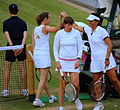 Flickr - Carine06 - Martina Hingis ^ Gigi Fernandez enjoying themselves... not so sure about Natasha Zvereva.jpg