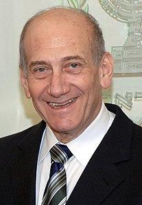 Ehud Olmert Israeli politician, prime minister of Israel