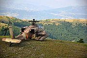Flickr - Israel Defense Forces - Israeli Apache helicopter overlooks the Greek hills