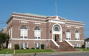 National Register of Historic Places listings in Florence County, South Carolina - Image: Florence Public Library