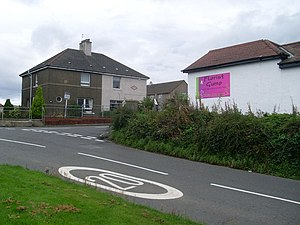 Suicide of Nicola Ann Raphael - Raphael's last home in Loch Road Kirkintilloch