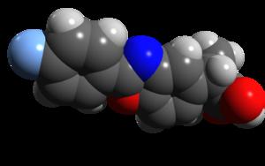 Flunoxaprofen - Image: Flunoxaprofen space filling