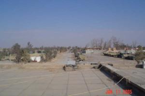 Camp Speicher massacre - A picture of the area where the massacre occurred.