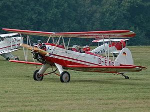 Focke-Wulf Fw 44 - A Focke-Wulf Fw 44J in 2005