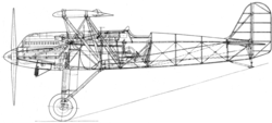 Fokker D.XVII side drawing L'Aerophile May1932.png