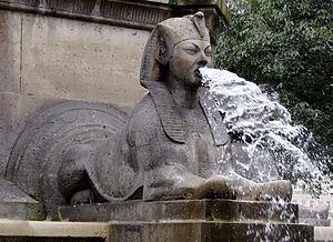 Henri Alfred Jacquemart - Image: Fontaine du Palmier Sphinx 240907 04