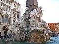 Fontana dei Quattro Fiumi, Piazza Navona 01 - Roma - panoramio.jpg