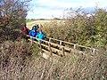 Footbridge near Higher Silcock - geograph.org.uk - 1041168.jpg