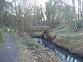 Footbridge over Causey Burn - geograph.org.uk - 2316755.jpg
