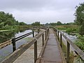 Footbridge over the River Soar weir, Watermead Country Park - geograph.org.uk - 1560579.jpg