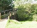 Footbridge over the shallows, Haysden Country Park. - geograph.org.uk - 1051695.jpg