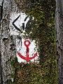Footpath signs in Dresdner Heide 01.jpg