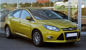 Ford Focus Mk II sedan