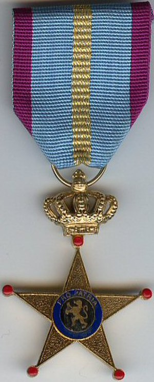 Cross of Honour for Military Service Abroad - Image: Foreign Service Honor Cross 1st class