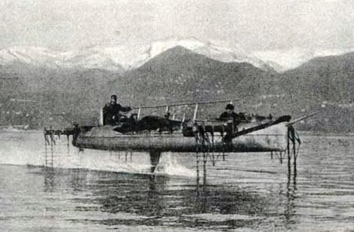 Forlanini Idroplano-Forlani Hydrofoil 1910
