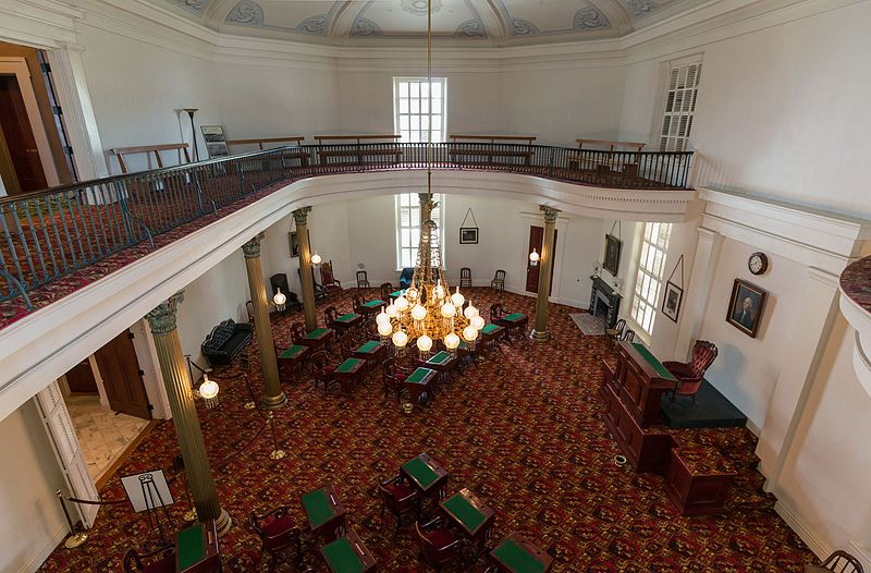 File:Former Senate Chamber, Alabama State Capitol, as Seen From Gallery 20160713 1.jpg