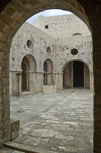 The North Remembers - Joffrey's name day tourney was filmed at Fort Lovrijenac