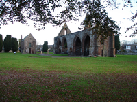 "The ruins of Fortrose Cathedral on the Black Isle, the ""seat"" ( cathedra ) of the diocese of Ross FortroseCathedral.PNG"