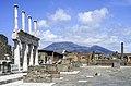 Forum (Pompeii) and the Vesuvio.jpg