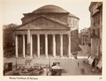 Fotografi. Pantheon di Agrippa. Rom, Italien - Hallwylska museet - 104733.tif