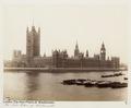 Fotografi av Westminsterpalatset. London, England - Hallwylska museet - 105859.tif