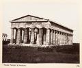 Fotografi på tempel i Paestum - Hallwylska museet - 104086.tif