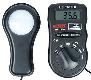 Photometer - A photometer