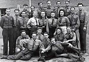 Belarusian diaspora - Belarusian scouts in Regensburg, West Germany, 1946