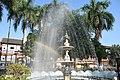 Fountain in front of Old Rajwada2-Satara-Maharashtra.jpg