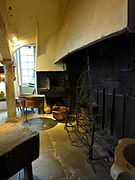 Fr Château de Sassenage Kitchen fireplace.jpg