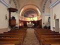 France Isère Herbeys church Interior 1.jpg