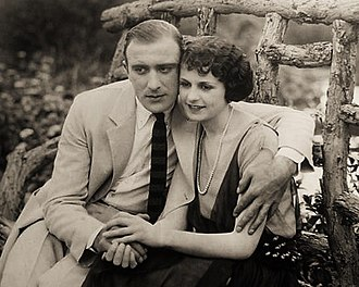 The Altar Stairs - Film still with Frank Mayo and Louise Lorraine