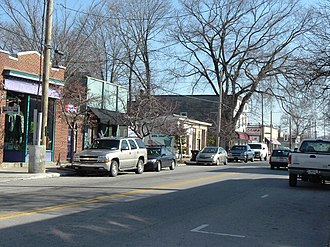 Clifton, Louisville - Frankfort Ave in Clifton