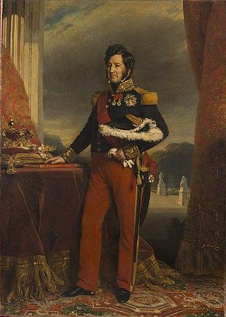 Orléanist - Image: Franz Xaver Winterhalter King Louis Philippe