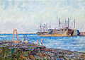 Frederick McCubbin - Ships, Williamstown.jpg