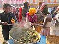 Free Food Distribution - Gangasagar Fair Transit Camp - Kolkata 2012-01-14 0693.JPG