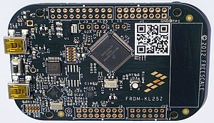 ARM Cortex-M -  NXP (Freescale) FRDM-KL25Z Board with KL25Z128VLK (Kinetis L)
