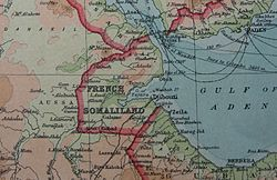 French Somaliland in 1922