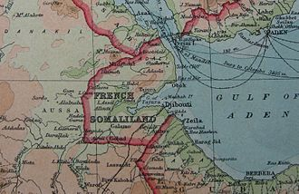 History of Djibouti - French Somaliland in 1922