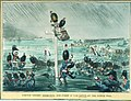 French troops Thirsting for Glory in the Depth of the Dutch War. (caricature) RMG PU4794.jpg