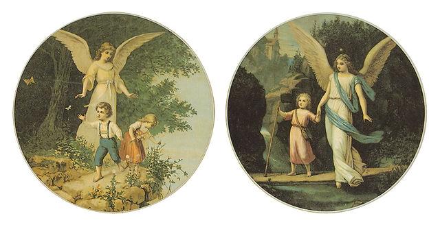 Fridolin Leiber - Schutzengelbilder