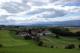Seedorf, Bern - Frienisberg Abbey and surroundings