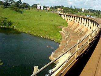Energy in Uganda - Nalubaale Power Station, 2007.